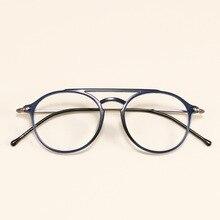 Ultralight ULTEM(PEI) Round Glasses Frame Men Vintage Optical Clear Transparent Eyeglasses Women Myopia Spectacle Frames Eyewear