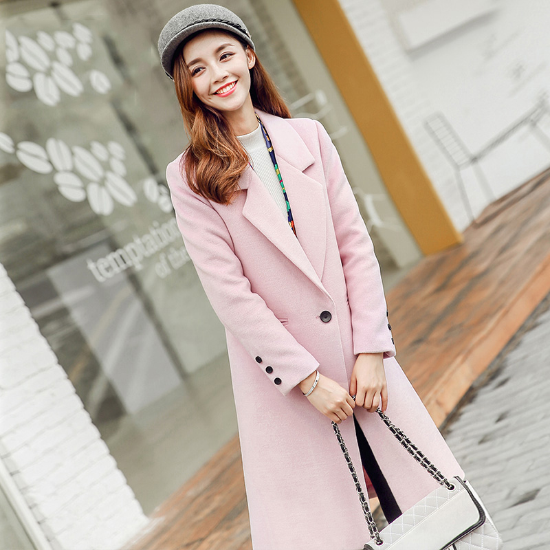 Popular Pink Long Coat-Buy Cheap Pink Long Coat lots from China ...