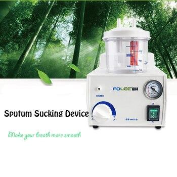 Dispositivo de succión eléctrica para el hogar de succión de vacío de emergencia Aparato de succión médico de succión de sputum 110 v/220 v