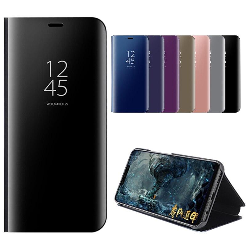 V11 Cas Pour VIVO V11 Cas 6.41 ''Flip Miroir Stand Téléphone Couverture Pour VIVO V11 Pro Cas De Protection Complet de luxe V11Pro V 11 Fundas