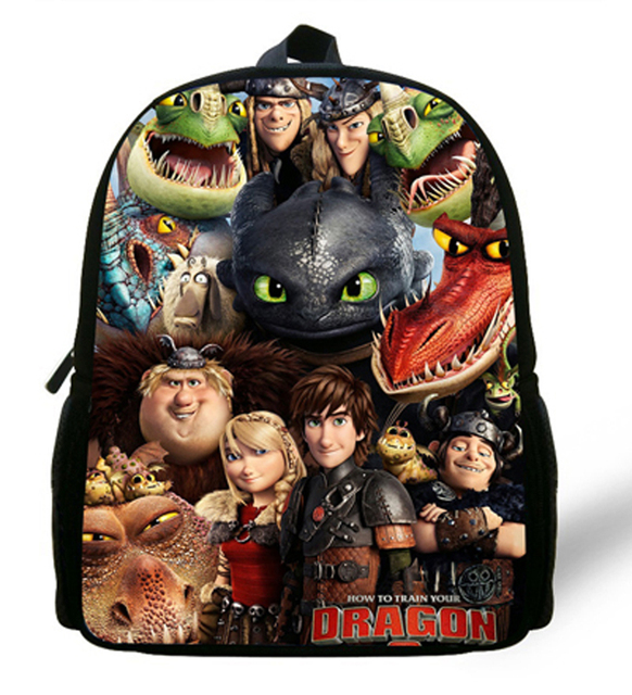 e1462e723d3 12-inch Children School Bags How to Train Your Dragon Backpacks For Little  Boys Hiccup Dragon Bag Kids School Backpaks
