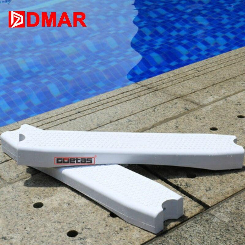 DMAR piscine 304 acier inoxydable échelle marchepied Rung escabeau équipement 50 cm 20