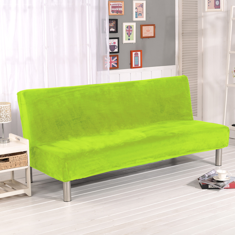 Home Textile Lellen Universal Size Armless Sofa Bed Cover Folding Seat Slipcovers Stretch Covers Couch Protector Elastic Bench Futon Xd05 Home & Garden