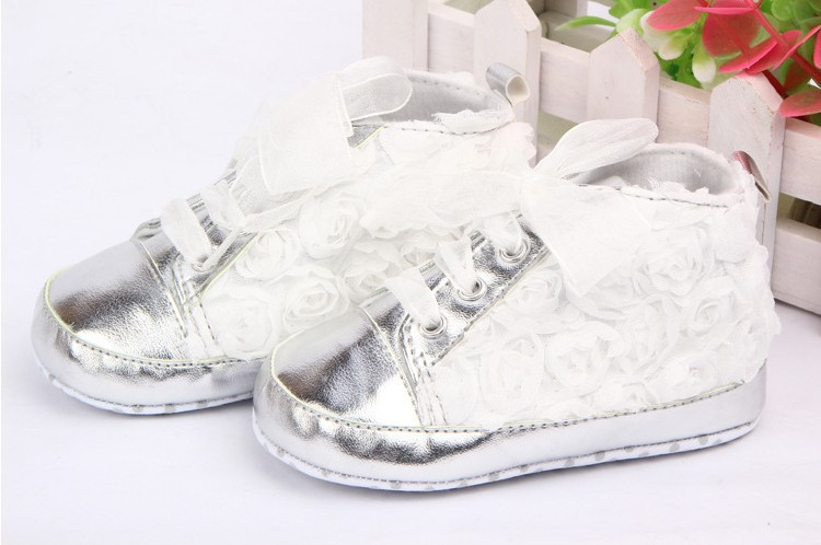 2019 Baby Toddler Shoes Kids Flower Soft Sole Girl First Walkers toddler baby shoes infansoft sole shoes girl boys footwear t cotton fabric first walkers s01 page 1