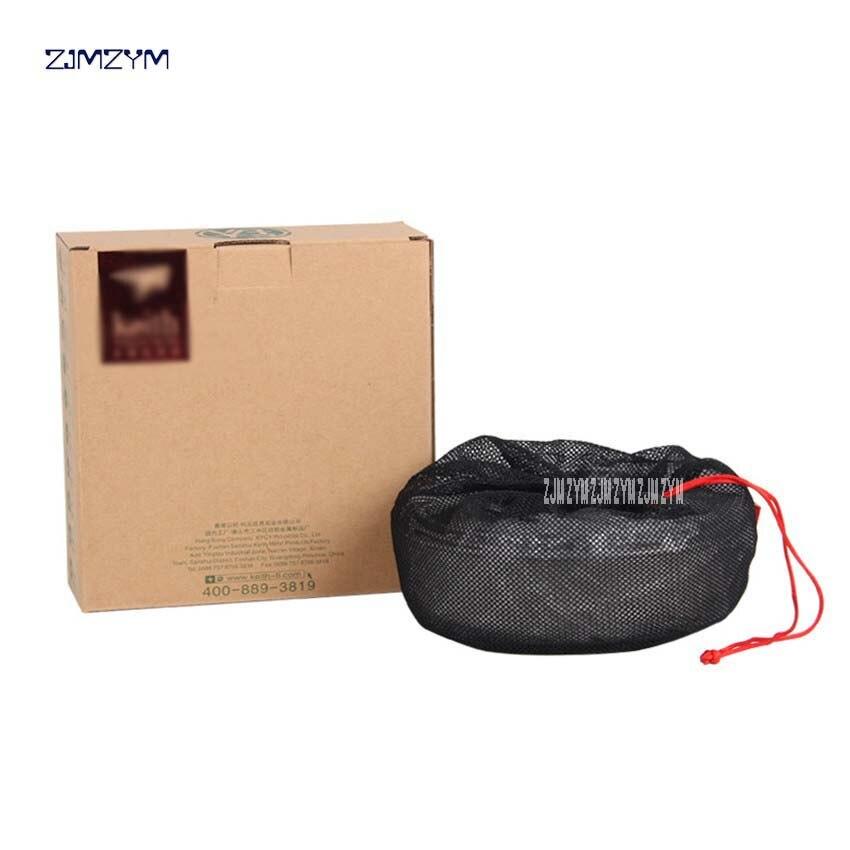 Ti5375 un ensemble 7 pièces titane matériau bol extérieur Camping vaisselle plein air camping pique-nique quotidien titane vaisselle ensemble - 4