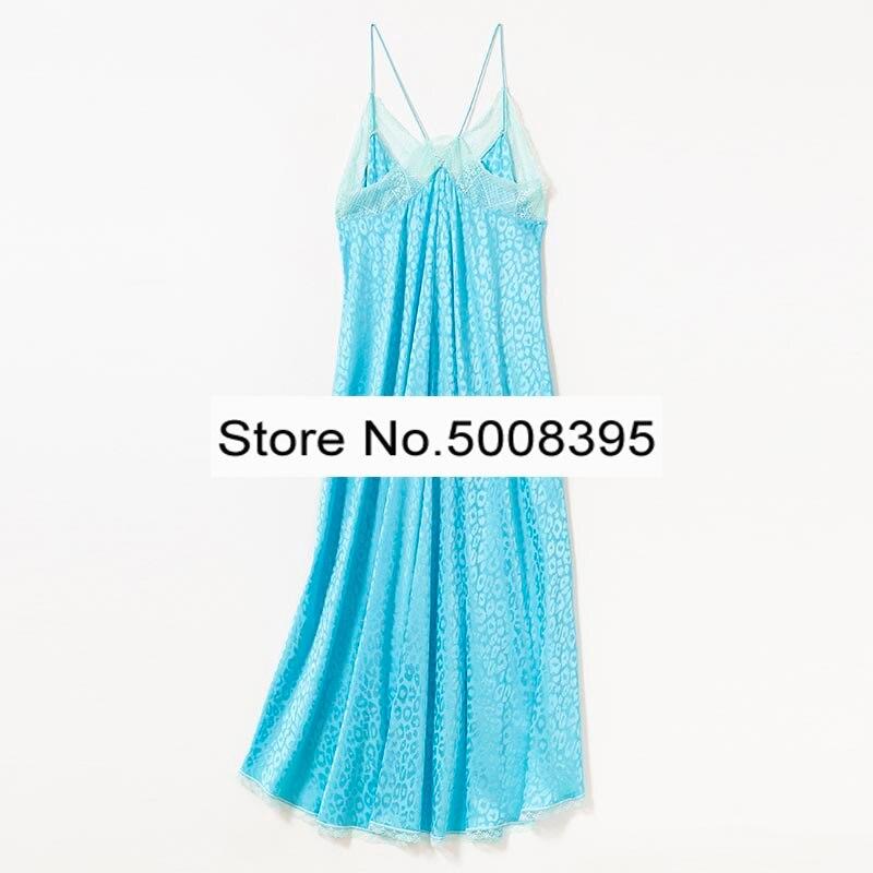 Himmel Blau RISTY JAC LEO Silk Midi KLEID V ausschnitt Strappy Sleeveless Spitze Trim Mode Slip Midi Kleid Frau-in Kleider aus Damenbekleidung bei  Gruppe 2