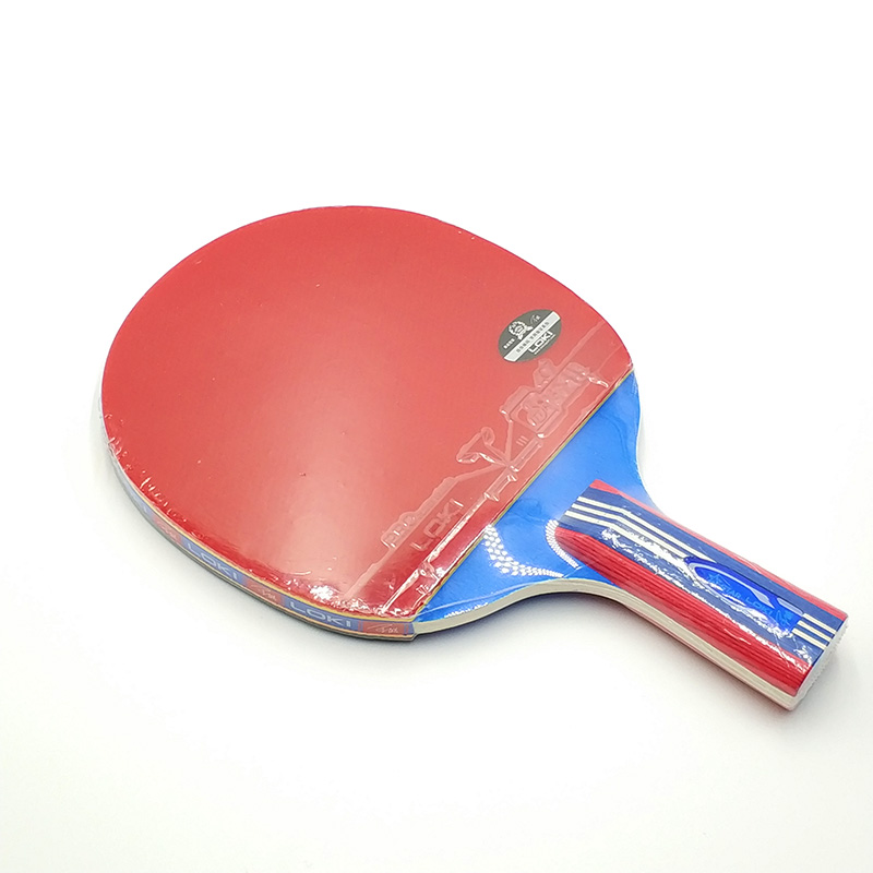 LOKI 1 Star Table Tennis Racket Entertainment 5 Layers Pure Wood Blade Ping Pong Bat for New Beginner