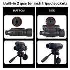 Bestguarder 6x50mm Vision nocturne télescope infrarouge 350m 5MP HD caméra chasse jumelles optique nuit vue portée IR monoculaire - 5