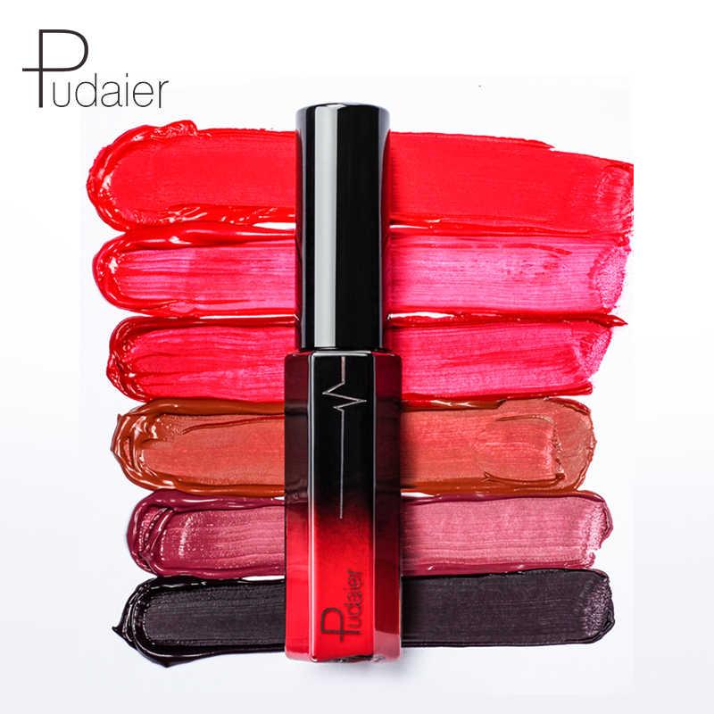 3 colores/caja Semi Mate medio hidratante brillo de labios Kit labios maquillaje Mate líquido lápiz labial sedoso nutritivo brillo de labios Mate batom conjunto