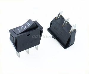 Image 3 - Interrupteur à bascule, 5 pièces x AC 15a 250V /20A 125V, SPDT KCD3, 3 positions pour bateau noir