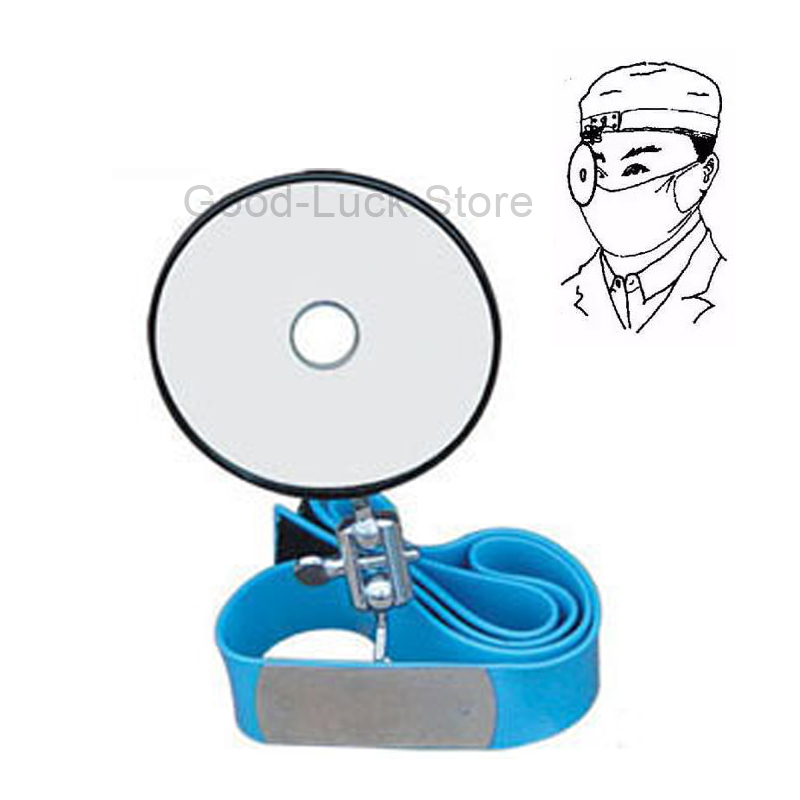 Reflector For Medical Forehead Viewfinder Frontal Mirror Special For The ENT(ear, nose and throat) the amount of medical mirror mirror ent examination of medical endoscope otoscope medical devices
