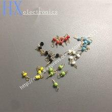 100 шт хорошее качество шесть цветов печатной платы тестовая точка/шарик/Кольцо/обруч керамические PCB тестовые булавки