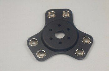 kossel k800 metal magnetic effector For DIY delta kossel 3D printer aluminum alloy black color