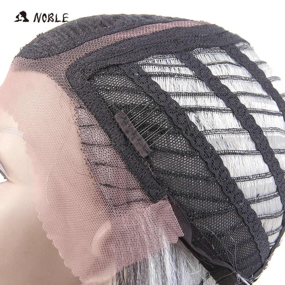 Благородные синтетические парики на кружеве 14 дюймов короткие парики для черных женщин синтетический парик косплей парики для женщин термостойкий парик