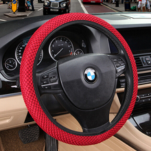 Breathability sandwich skidproof fits most fabric steering handmade wheel styling universal