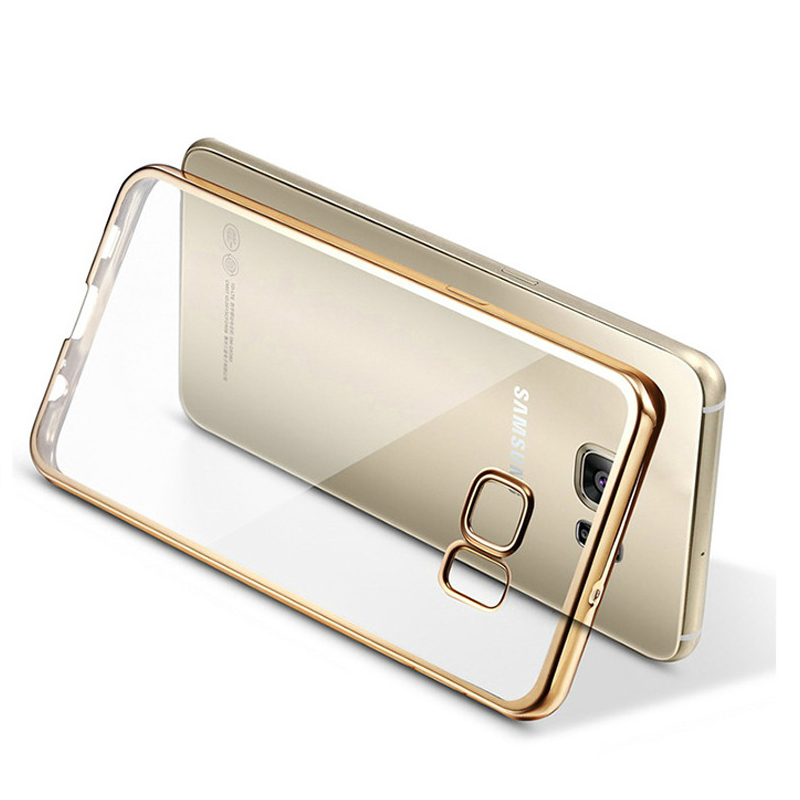 Luxury Ultra thin TPU Phone Case For <font><b>Samsung</b></font> Galaxy A3 A5 A7 J1 J3 J5 J7 2016 2017 S5 S6 S7 Edge S8 S9 Plus Grand Prime <font><b>Cover</b></font> image