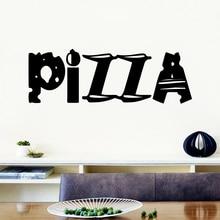 Creative Vinyl Pizza Wall Sticker Home Decor For Restaurant Decoration Decal Stickers Murals