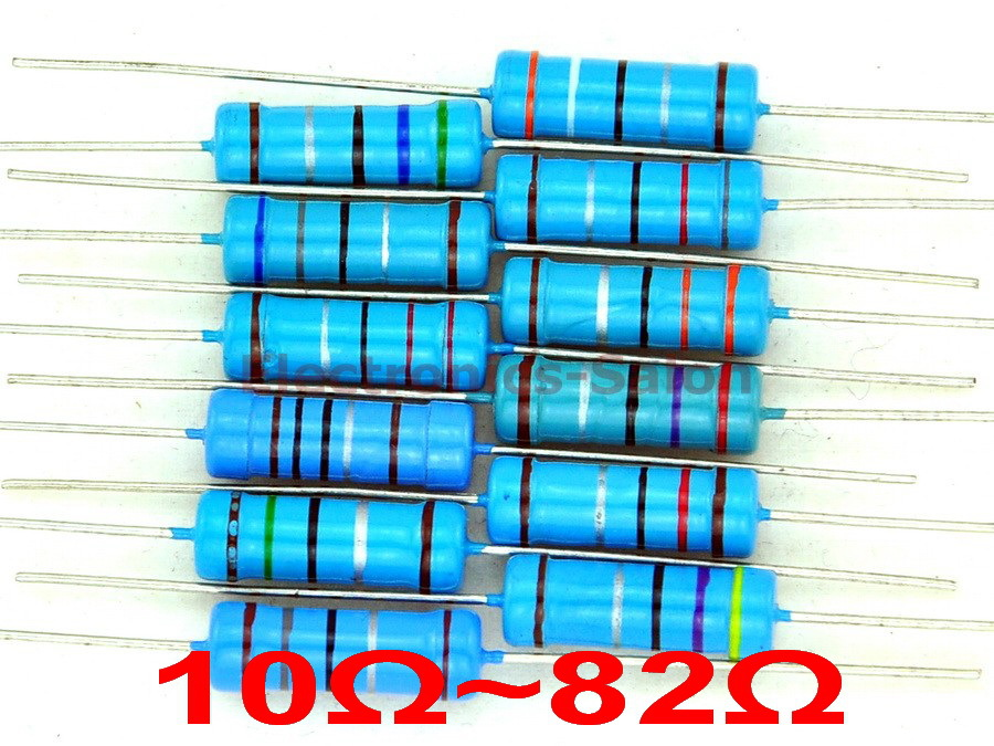 1200 Ohm 1//8 Watt Resistor universal 1.2 K 1.2K Pack of 20
