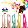 Free shipping Ultra-thin candy color The hook silk velvet Tights stockings
