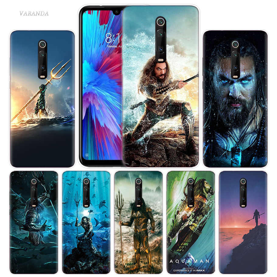 Aquaman Jason Momoa Case for Xiaomi Redmi Note 7 7S K20 Y3 GO S2 6 6A 7A 5 Pro MI Play 9T A1 A2 8 Lite Poco F1 TPU Phone Bags