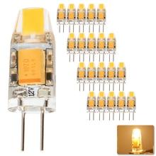 20pcs G4 COB LED Bulb 3W 6W ACDC 12V lamp Crystal Light Lampada Lampara Bombilla Ampoule Replace Halogen