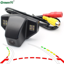 Car Dynamic Trajectory Reverse Backup Rear View font b Camera b font For Honda Accord CRV
