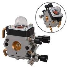 цена на 1x Carburetor Carb For STIHL FS38 FS45 FS46 FS55 FS74 FS75 Trimmer Ignition Coil