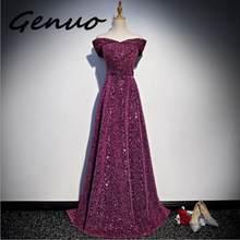 Genuo новые без бретелек Вечерние Элегантные длинные макси платья