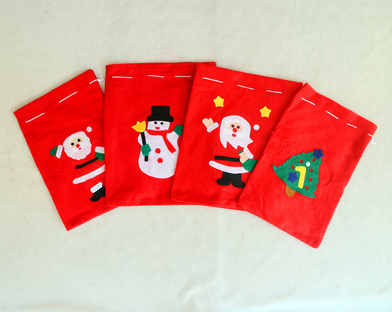 Santa Sack Santa Claus Claus Gift Bags Christmas