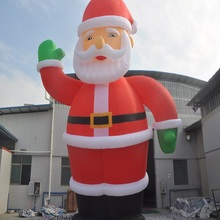 inflatable Father Christmas classic type