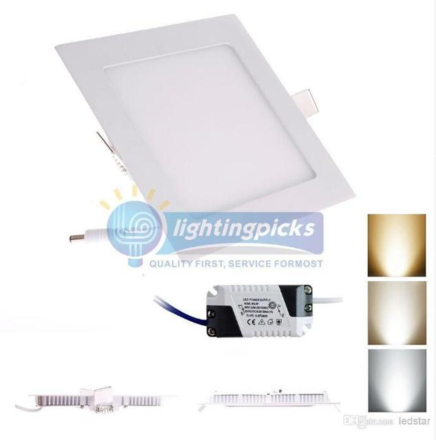 Led panel light dimmable 18w cree led recessed lights warmnatural led panel light dimmable 18w cree led recessed lights warmnaturalcool white super aloadofball Gallery