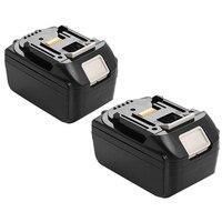 2x 18V 6 0AH Battery For Makita BL1860 BL1840 BL1830 BL1815 LXT Lithium Ion