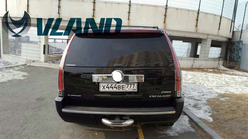 Free Shipping Vland Factory Wholesale Car LED Taillights for Cadillac Escalade LED Tail Light with LED Light Bar DRL 2007-2014 vland led tail lights for cadillac escalade esv 2007 2008 2009 2010 2011 2012 2013 2014 led tail light rear lamp
