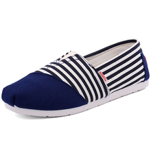 2017 Ladies's style Flat sneakers Lazy's espadrilles Ladies's canvas sneakers woman loafers espadrilles Ladies Flats sneakers dimension 35-44