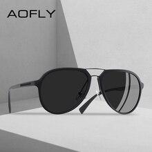 AOFLY diseño de marca de gafas de sol polarizadas Vintage conducción clásico gafas de sol de las mujeres TR90 marco gafas UV400 AF8101