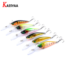 KASSYAA Minnow Floating Lures 94mm 6.2g Topwater Fishing Baits Quality Wobblers Bass Hard Bait Crankbait Pike Carp Fish Leurre