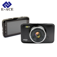 E-ACE Novatek Mini Car Dvr Dvrs Dash Camera Full HD 1080P Video Recorder With Led Flashlight Night Vision Portable Car Camcorder