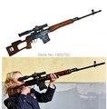Caliente! 2015 envío gratis armas de juguete pistola de juguete eléctrico de francotirador eléctrico infrarrojo emiten luz y sonido no se puede grabar bala