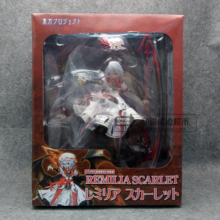 New Arrival Remilia Scarlet Griffon TouHou Project  1/7 Scale 22.5CM Action Figure new arrival remilia scarlet griffon touhou project 1 7 scale 22 5cm action figure
