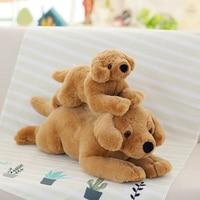 Kawaii Simulation Stuffed Animals Craft & Plush Doll Labrador Dog Educational Toy For Baby Decoration Creative Gift Wholesale P2