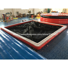 ФОТО 5x5 meter inflatable sea pool for yacht boats,popular floating inflatable water pool for boat swimming