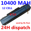 10400MAH laptop Battery For Acer Aspire 4520G 4710 4715Z 4720G 4730 4730Z 4736 5235 5334 2930 AS07A31 AS07A41 AS07A51 AS07A71