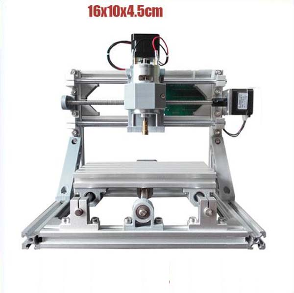 1610 GRBL управления Diy мини станок с ЧПУ, рабочая зона 16x10x4,5 см 3 оси Pcb фрезерный машинный деревянный роутер, фрезерный станок с ЧПУ