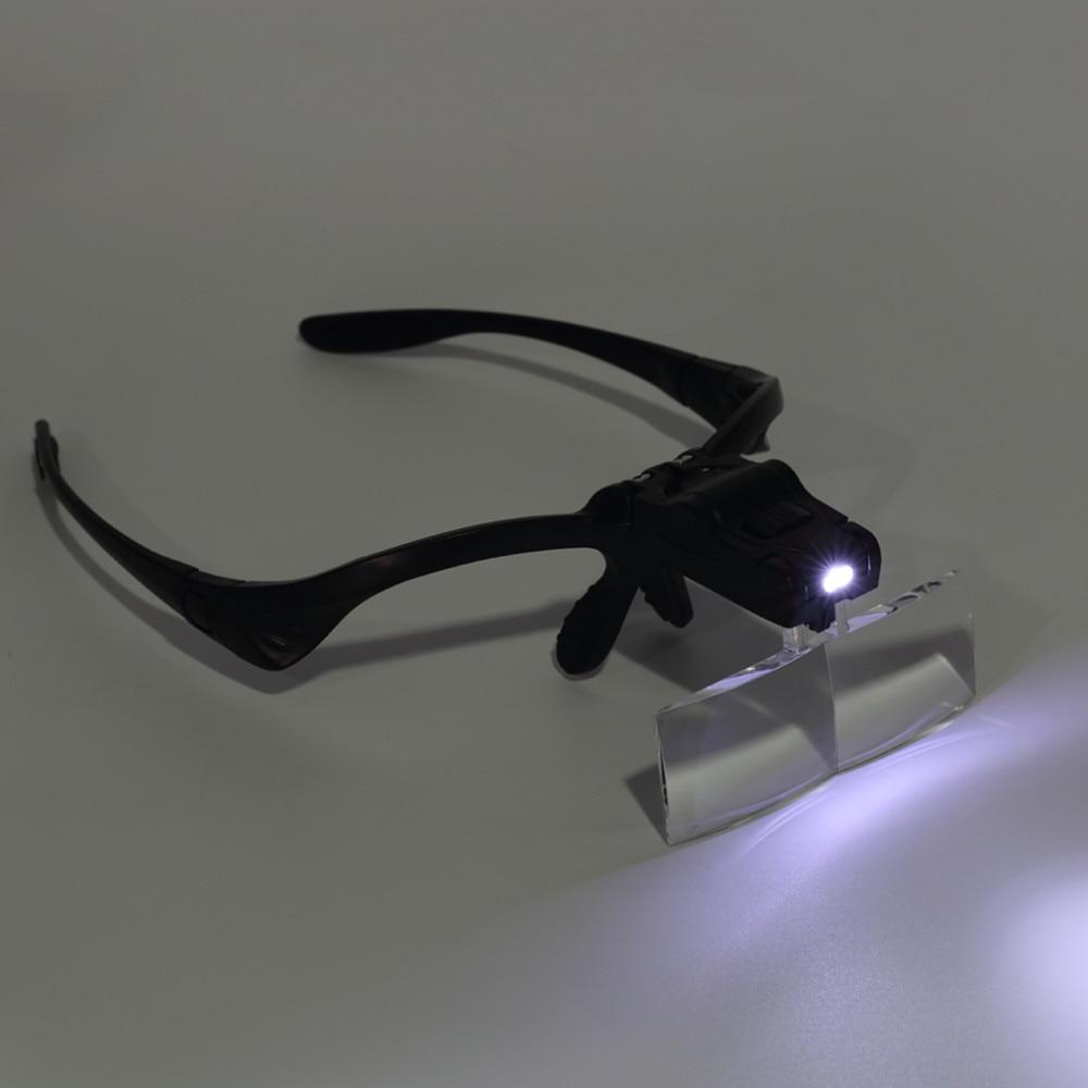 led lupa óculos joalheiro reparação relógio