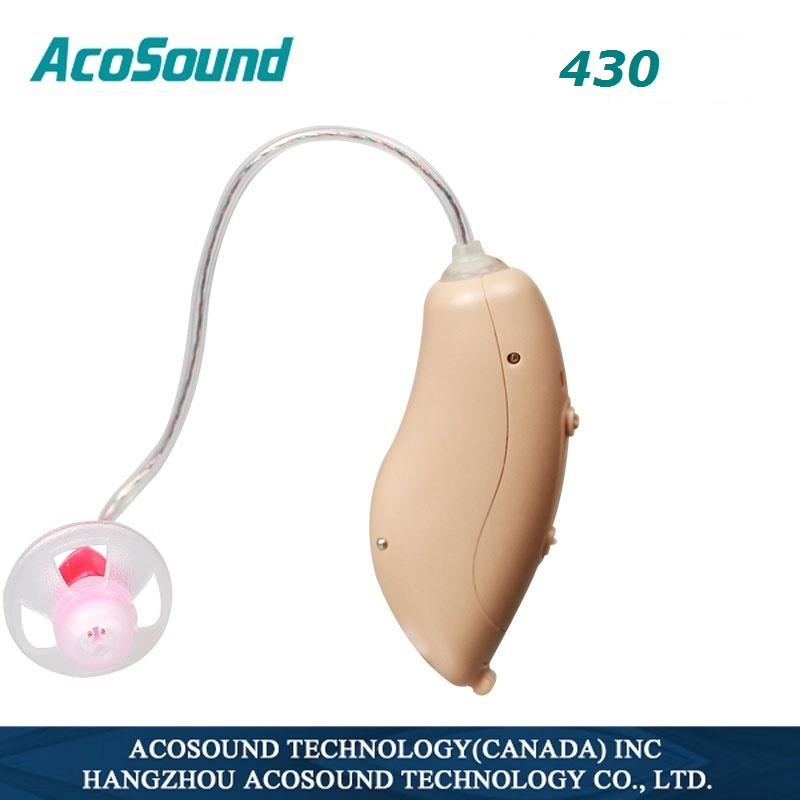 Acosound RIC Digital Mini Hearing Aid 4 Channels 430RIC Hearing Aids for elder Hearing Amplifiers Small