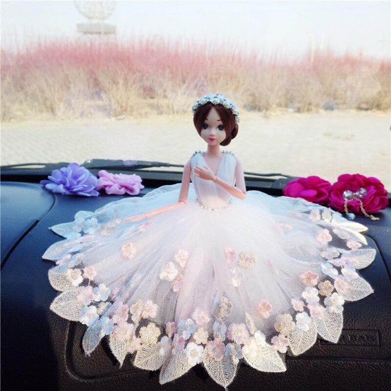 Lutka + haljina + veo / luksuzna čipka velika bijela nevjesta svadba - Lutke i pribor - Foto 2