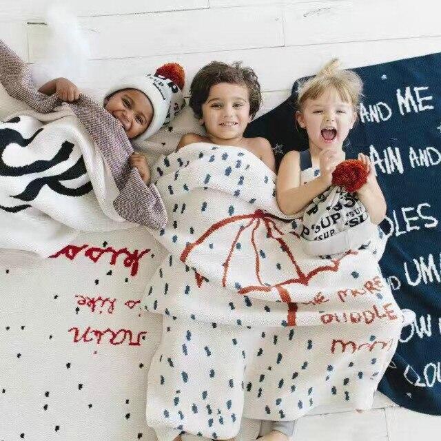 Bebes одеяло couverture 2017 Новый Зонтик одеяло для мальчика девушка кама постельные принадлежности дети новорожденных фотография опоры детские dekens ledikant