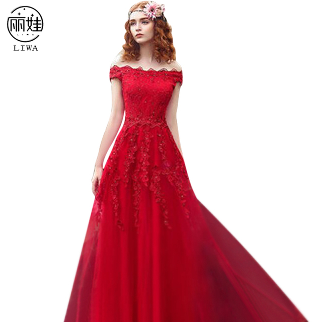 Vestidos novia rojo