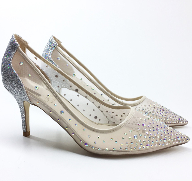 2018 Fashion Woman High Heels Pumps lady party Wedding Shoes ...