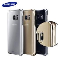 100 Original Samsung S7 S7 Edge Case Transparent Protective Shell Ultra Slim Back Protective Case For
